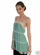 """""""Darling"""" Beatrice  of London Lace Trim Cami Size L RRP $160.00"""