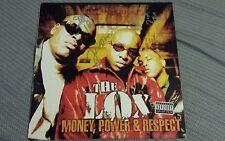 THE LOX signed auto MONEY POWER & RESPECT Vinyl LP JADAKISS STYLES P SHEEK LOUCH