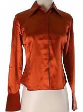 NWT Bloomingdale's Long Sleeve Silk Top Size 2P
