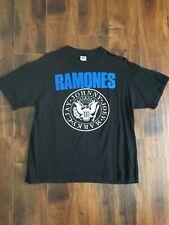 Vtg 1995 The Ramones Adios Amigos Tour Shirt Sz XL Anvil Tag Black