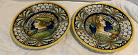Deruta Handpainted by Alvaro Binaglia  Set of 2 Small Bowls Italy Istoriato