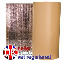 10 x 1.05m Self Adhesive Thermal Acoustic Bubble Foil Insulation caravan camper