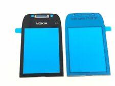 100% Original Nokia E75 A Cover Scheibe Glas Display Glas Front Glas Schwarz