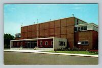 Holland MI, Holland Civic Center, Chrome Michigan Postcard
