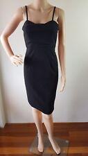 BARDOT Ladies Black Fitted Knee Length Dress Size: 8 EUC