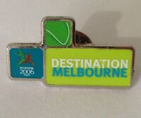 Destination Melbourne Commonwealth Games Pin Badge Rare Vintage (E5)
