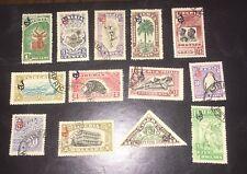 Liberia 1918 O98-O110 M&U Complete Set