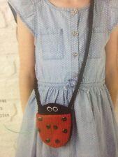 Children's Ladybird Bag/Purse Chunky KNITTING PATTERN