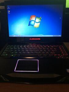 Alienware  m14x r2 i7, 75 GB, 2.3ghz 3610, 8gb Ram ,Nvidia 750M gt, Win 7