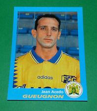 N°87 JEAN ACEDO GUEUGNON FORGERONS PANINI FOOT 96  FOOTBALL 1995-1996