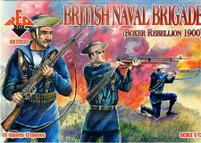 RED BOX 1/72 Marina Británica BRIGADA (Boxeador Rebellion 1900) #72033