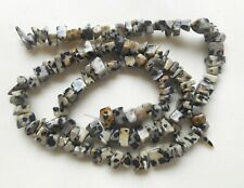 "17"" String high quality Dalmatian Jasper chips 5mm to 8mm"