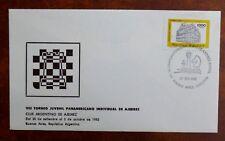 THEME DES ECHECS : ARGENTINE 1982 - VIII TOURNOI JUVENIL PANAMERICANO - TBE