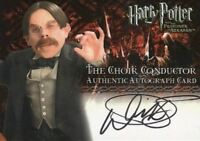 Harry Potter and the Prisoner of Azkaban Update Warwick Davis Autograph Card