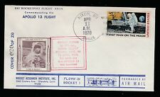 1970 US rocket mail RRI flight XXIX,Apollo 13, EZ 135C1d
