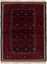 "Hand-knotted Carpet 2'10"" x 5'4"" Traditional Vintage Wool Rug"