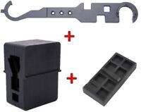 Combo Set Of Upper and Lower Receiver Vise Block and Wrench Gun Smithing Tools