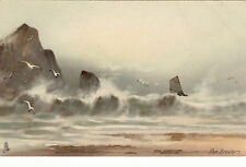 Raphael Tuck Seascape Collectable Artist Signed Postcards