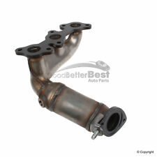 One New Genuine Exhaust Manifold with Integrated Catalytic Converter Front