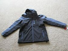BNWT New Balance Men's Soft Shell Hooded 3-in-1 Systems Jacket, Size LTall, $175