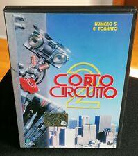 CORTO CIRCUITO 2 (Tristar Pict.) DVD Fantascienza (1988) Editoriale ED. Master