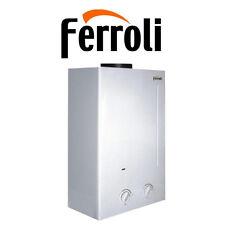 SCALDINO SCALDABAGNO FERROLI  A GAS ZEFIRO C11 LT 11 GPL O METANO CAMERA APERTA