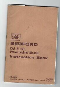 Bedford CAS & CAL petrol engined models handbook