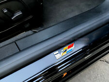 2x 3D V-SERIES LOGO Door Step Emblem plate Sills Badge Sticker Interior Exterior