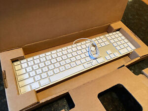 Apple A1243 MB110LL/A Wired Keyboard - New In Box