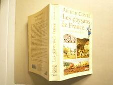 LES PAYSANS DE FRANCE DE L'AN 1000 A L'AN 2000 DE ARTHUR CONTE ED PLON 2000