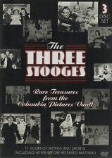 Three Stooges - Rare Treasures (2 Rare Movies/Many Shorts) Reg1 * NEW & SEALED *