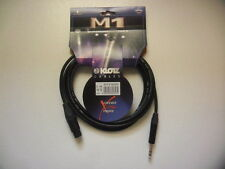 KLOTZ M1FS1B0300 Cable pour micro XLR femelle- 3m-MY206. NEW