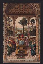c1910 Sborgi art Piccolomini & King James Italy by artist Pinturicchio postcard