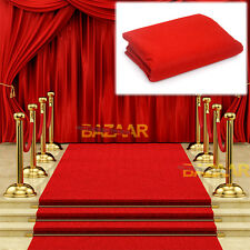 Red Carpet Runner Hollywood Awards Night Casino Wedding Party Decoration 5*1m OZ