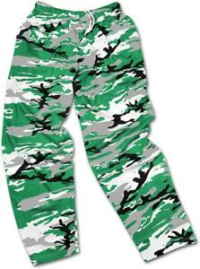 Zubaz North Dakota Fighting Hawks Men S L Camo Print Casual Active Pants C1 2107