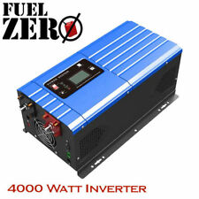4000W / 12000 Watt 24v Pure Sine Low Frequency 110v Inverter Built-In AC Charger