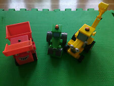 Bob the Builder Friction vehicles Roley, Muck, scoop Used