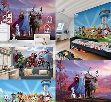Children's Bedroom wallpaper murals Marvel Avengers Disney Frozen and Paw Patrol
