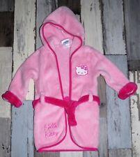 ~ Peignoir / Robe de chambre rose HELLO KITTY fille 12/18 mois ~ AUR386