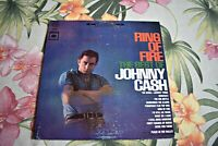 Johnny Cash 1963 The Ring Of Fire The Best Of LP Columbia CS 8853    Near Mint
