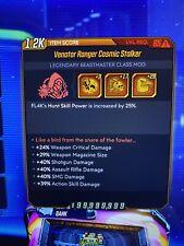 """XBOX Borderlands 3 Modded FL4K """"Cosmic Stalker"""" 54 SKILL POINT Level 65"""
