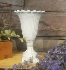Cast Iron tulip Urn Home Garden Table Fall Wedding Candle Floral Decor