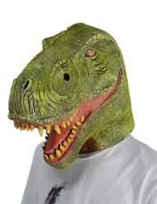 T Rex Dinosaur Mask Halloween Costume Prop Adult Size Latex Nontoxic and Soft