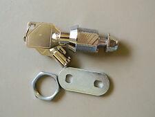 "Tubular Cam Lock 5/8"" Long - Chrome -MEI- 2400ASKA - by FJM"