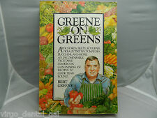 VTG Cookbook Greene on Greens by Bert Greene Paperback 1984