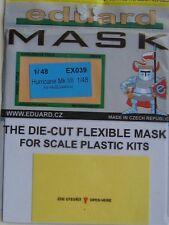 Eduard 1/48 EX039 Canopy Mask for the Hasegawa/Revell Hurricane Mk I/II Kits