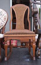 Walnut Grand Ledge Sewing Rocker / Rocking Chair  (R120)
