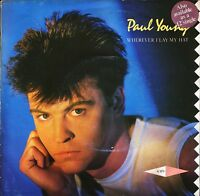 """PAUL YOUNG wherever i lay my hat/broken man A 3371 uk cbs 1983 7"""" PS EX/VG+"""