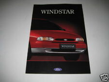 Brochure Ford Windstar From 1995