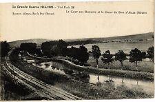 CPA La Camp des Romains et la Corne du Bots d'Ailly (187938)